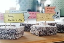 Fathers Day Ideas / Father's Day Cake Topper Decoration | Printable Dad Joke Flags | DIY Father's Day Card and Cake all-in-one