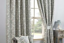 Curtain Showroom / Selection of curtains in stock in our North wales showroom #Curtains #Ruthin #NorthWales