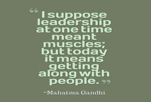 Quotes About Leadership / Leadership Quotes