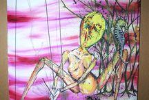 Kurt Cobain's Paintings