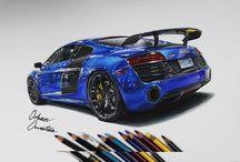 Car Drawing / Illustration Videos