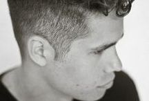 Boys with curly hair