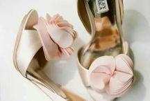 Wedding shoes, hair