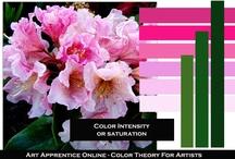 Art - Color Schemes / by Neadeen Masters