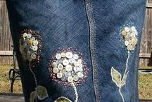Denim recycle clothes