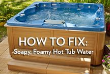 Hot Tub Maintenance / by ThermoSpas Hot Tub Spas
