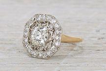 Vintage Diamond Rings / Gorgeous Vintage Diamond Rings