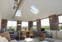 Extension / Recently undertaken Garden Room extension, Irish oak window frames and Prefix Systems GardenRoom Roof