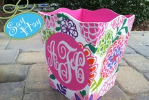 monograms / by Sherry Bourquin