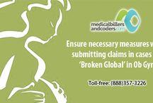 Ensure necessary measures while submitting claims in cases for 'Broken Global' in Ob Gyn