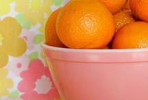 Orange & Pink...