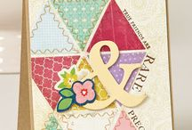 cards - snippet ideas / Cards to use up those scraps of paper