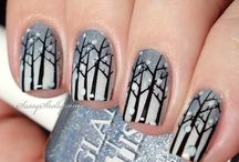 Winter / Christmas nails