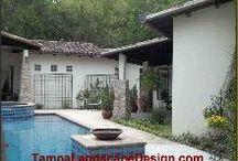 TampaLandscapeDesign.com Spanish courtyard
