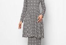 Baju Kurung Moden / Koleksi Baju Kurung Moden, Baju Raya, Jubah Moden Terkini