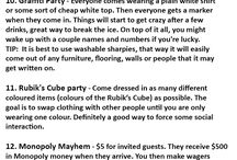 Party theme ideas