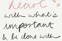Words of wisdom & happiness