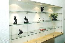 glass cable shelving