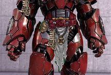 Robots, exo-suits, cyborgs.