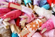 kolíčky na prádlo - dekoračně