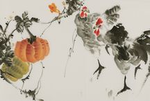 Chinese Chicken  Paintings / Chinese Chicken  Paintings from CNArtGallery.com http://www.cnartgallery.com/95-chinese-chicken-paintings