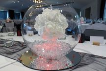 Wedding - Florist ideas / Bouquet and centrepiece ideas to show florist.
