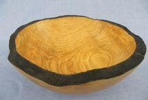 Schalen aus Holz; Knut Stalzer