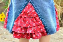 Skirt anak