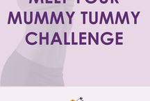 Fitness Challenges / Our monthly fitness challenges take just 10 minutes, three times a week. They are designed for buys mums and focus on toning a different part of the body each month.