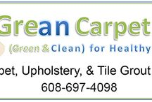 Grean Carpet Care / Grean Carpet Care is a carpet and upholstery cleaning business that offers commercial and residential services in the Sauk, Columbia, Marquette, Dodge, and Dane county region in Wisconsin.  Grean Carpet Care 101 Hiawatha St Portage, WI 53901 Phone:(608) 697-4098 Website: http://www.greancarpetcare.com/  Keywords:  Carpet Cleaner