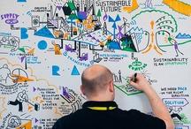 Grafisch faciliteren & templates / Voorbeelden van templates en tekeningen die fantastisch te gebruiken zijn tijdens bijeenkomsten of trainingen.