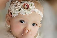 Bébés bandeaux/chapeaux