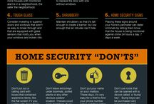 Home Security Tips. / What else can you do to secure your home and be safe?