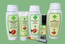 Ganodermás biokozmetikumok / Vegyszer mentes, ganodermát tartalmazó biokozmetikum család (sampon, tusfürdő, fogkrém, bőrregeneráló krém, napozás utáni balzsam stb.)