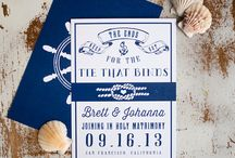 Invitations and save the dates / by Casey Baum