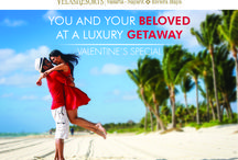 Valentine's Day Special / YOU AND YOUR BELOVED AT A LUXURY GETAWAY Call us to reserve 1 888 320 7590 / by Grand Velas Riviera Maya