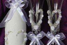 kieliszki ślubne
