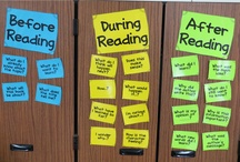reading comprehension / by Becky Saunders