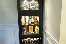 Fitta ideas for liquor cabinets