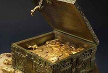 Zlato,striebro,šperky,poklady