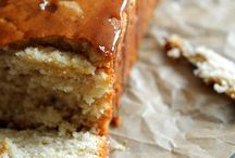 Apple cider caramel pound cake