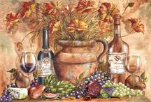 Decoupage vinos