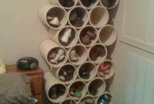 Muebles de Pvc para el hogar