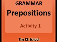 English - Key Stage 2 / The K8 School - English - Key Stage 2 contains English activities to aid year 3, 4, and 5.