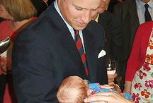 UK... PRINCE WILLIAM, Kate Middlerton and Baby Prince George / by Catherine Ligon