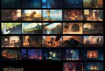 Animation preproduction