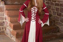 Mittelalter-Kleider / Ob einfach oder edel, Wikinger oder Hochmittelalter: Es gibt 1000 Arten, als Frau die Welt des Mittelalters zu erobern!