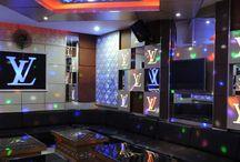 Công trình thi công phòng karaoke Phương Ngân Bình Dương