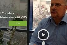 Correlata's Videos / Check out our videos! covering different topics, from news, to corporate videos, thought leadership and demos