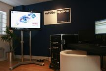 White Space / White Space is a creative production management company, providing a wide range of production services. They chose digital/electronic signage to help them react to ever changing needs of a live event with particular emphasis on ad hoc onsite changes. GSMA also wanted the ability to communicate these effectively to their delegates.